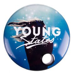 Incredible bass drum skin for the band - www.facebook.com/youngstatesband