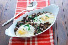 Egg and Mushroom Bake - Healthy Recipes