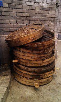 big steamer baskets...