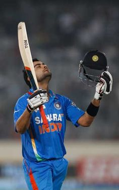 Kohli scored a total of 95 runs against England and Pakistan in the four  matches, thereby achieving his career-best ratings of 731.