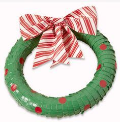 how to make a cheap wreath for christmas - Google Search