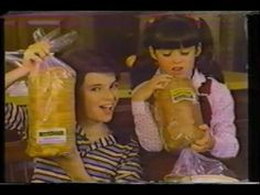 1981 Commercials:  Schafer's Bread, Buttermaid, Sunmaid