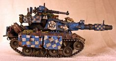 PAINTED 40K: Death Skull Looted Tank, Painted by Bill King
