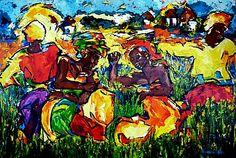 """Groot #schilderij van Renee de Vries 3.00 – 2.00 m. """"Freedom"""". #Acryl op linnen #kunst #Paletmessen #art #painting"""