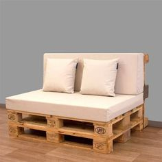 Want to know more about Wooden Pallet Ideas Pallet Seating, Diy Pallet Sofa, Wooden Pallet Projects, Wooden Pallet Furniture, Wood Pallets, Diy Furniture, Outdoor Furniture, Pallet Ideas, Outdoor Pallet