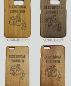 http://woodcases.co/product/electrical-engineer-engraved-wood-phone-case/