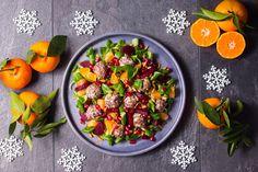 FASOLKOWE ZIMOWISKO - Just a SALAD - Przepisy na Sałatki Salad, Salads, Lettuce