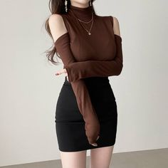 Trend Fashion, Kpop Fashion Outfits, Girls Fashion Clothes, Edgy Outfits, Casual Summer Outfits, Korean Outfits, Pretty Outfits, Classy Outfits, Cute Outfits
