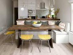 Afbeeldingsresultaat voor küche mit integrierter sitzbank