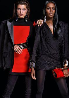 Ladys! Hier ist das Lookbook von Balmain x H&M!