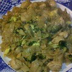 Pad See Ew (Thai Noodles with Beef and Broccoli)