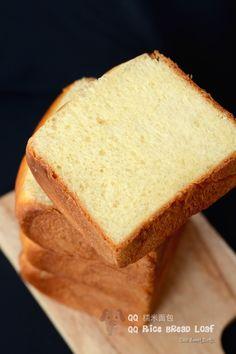QQ 糯米面包 QQ Rice Bread Loaf