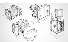 Personnal illustrations on Behance