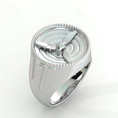 Spinning Propeller Ring