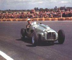 1952 GP Inglaterra - stirling moss (era g-bristol) abandono