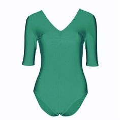 Starlite Jacqui #Dance #Leotard. A leotard with a longer short sleeve and ruched front. Material: Nylon Lycra 80% Nylon 20% Lycra® Elastane. Price from £11.50 at www.dancinginthestreet.com #dancinginthestreet