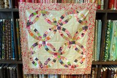 double wedding ring quilt | Joanne's Double Wedding Ring Quilt | Flickr - Photo Sharing!