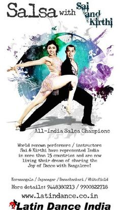New SALSA Level 2 Weekday Batch, Latin Dance India, Bangalore