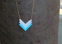 Sweet Tea and Pumps How-Tos: DIY Geometric Necklace
