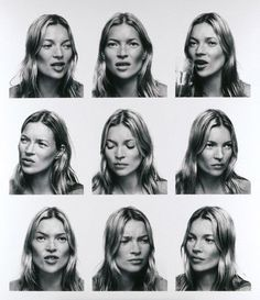 Kate Moss photographed by Corinne Day - Corinne has photographed the conversation that she is having with Kate and I find that this image pictures time well as it isn't posed or set up and similar to Duane Michals work