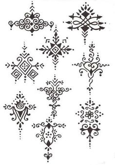 Image result for henna designs for beginners step by step