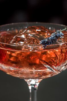 Elderflower liqueur, Suze, port and Prosecco go into this delightfully floral cocktail. Ideal for a New Year's Eve party or Christmas celebration, this is a drink to have in your repertoire.