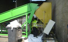 One of the biggest waste plastic recycler in Belgium starts waste Styrofoam recycling three years ago. They bought a Chinese brand machine named GREEMAX,