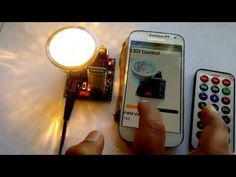 Amarino LED lamp for Android-Arduino communication via Bluetooth