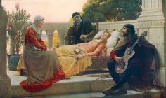 Edmund Blair Leighton (1853 - 1922) - God speed (1900). - Google Search