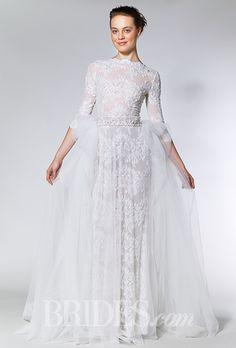 Brides: Ersa Atelier Wedding Dresses   Fall 2015   Bridal Runway Shows   Brides.com | Wedding Dresses Style