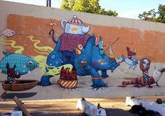 Denmark by Spanish artist Dulk (Photo by Linda GSA) #streetart #urbanart #bestgraffiti #amazingstreetart #dulk