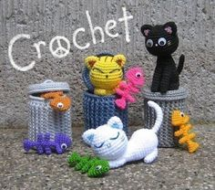 Alley Cats Amigurumi Pattern PDF Crochet Instant