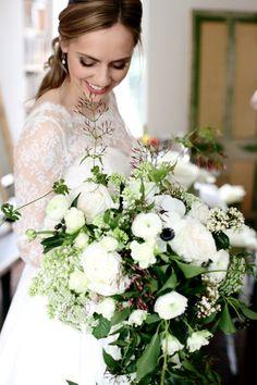 Beautiful Brixton East Winter Wedding by Dasha Caffrey | www.onefabday.com