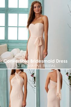 Jasmine Bridal is home to 8 separate designer wedding labels as well as two of our own line. Jasmine is the go to choice for wedding and special event dresses. Neutral Bridesmaid Dresses, Plus Size Bridesmaid, Bridesmaids, Jasmine Bridal, Rustic Wedding Inspiration, Bridal Parties, Event Dresses, Bridal Wedding Dresses, Victoria Beckham