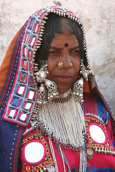 Tribal Village Lady from Andhra Pradesh, India