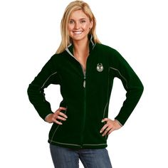 1d14bf17030 Jacksonville Jaguars Majestic Womens Deep Post IV Full Zip Fleece ...