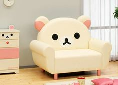 Super kawaii Korilakkuma chair!!                                                                                                                                                                                 Mais
