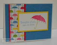 Raining Thoughts by stampinshauna - Cards and Paper Crafts at Splitcoaststampers