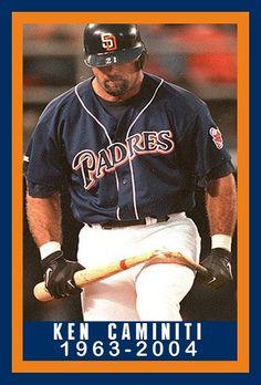 Ken Caminiti Baseball Quotes, Baseball Stuff, Baseball Cards, Mlb Teams, Sports Teams, Famous Baseball Players, San Diego Chargers, San Diego Padres, American League