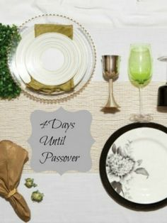 Shulchan Orech - Setting a Beautiful Passover Table
