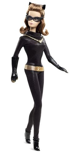 CATWOMAN BARBIE DOLL - 2013