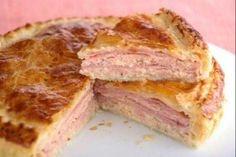 Ham and Chicken Bake Colombian Food, Quiches, Omelettes, Latin Food, International Recipes, I Love Food, I Foods, Mexican Food Recipes, Tapas