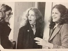 Gilda Radner, Laraine Newman, and Jane Curtin.  LADIES.