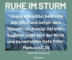 Es scheint nicht jeden Tag die Sonne. Hin und wieder kann es auch windig, stürmisch und und ungemütlich werden. Die Wolken verdecken den blauen Himmel, es wird finster, trüb und kalt. Starke Unwetter können auch gefährlich werden und Schäden verursachen, z. B. durch Hochwasser, Murenabgänge, Wirbelstürme, Blitze oder Hagel. Auch in unserem Leben gehen wir oft durch stürmische Zeiten. #Anker #Frieden #Glaube #Halt #Hoffnung #Jesus #Mittwochsimpuls #RuheimSturm #Vertrauen #Wunder Corrie Ten Boom, Community, Books, Godly Relationship, Lightning, Peace, Libros, Book, Book Illustrations