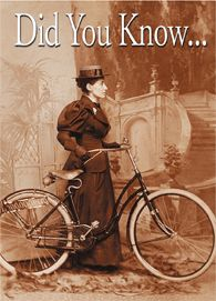 The story of Annie Londonderry, a 19th century Jewish mother from Boston who was the first woman to cycle around the world!