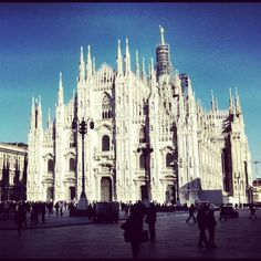 Duomo di Milano, Italy - Photo by Pablo Gerbasi with an iPhone 4