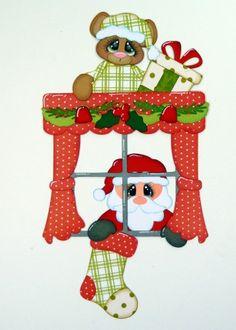 0night before Christmas santa