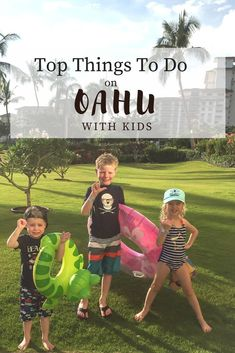 The best things to do in Oahu Hawaii with kids for your family vacation. From the hikes, to visiting Honolulu, to beautiful beaches we are sharing our tips and secrets for traveling to the island that take you beyond Disney's Aulani resort. Hawaii Vacation Tips, Best Island Vacation, Hawaii Honeymoon, Hawaii Travel, Vacation Ideas, Vacation Packing, Vacation Spots, Oahu Hawaii, Visit Hawaii