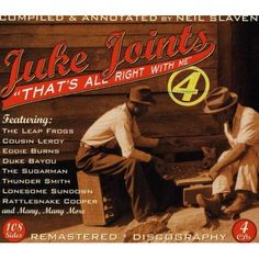 Juke Joints 4-That's All Right with Me / Various
