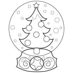 Marisa Straccia: Snow Globe designs